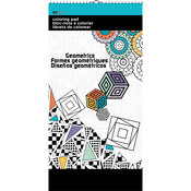 "Geometric Designs - Trends Mini Coloring Pad 6""X12"""