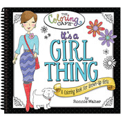 It's A Girl Thing - The Coloring Cafe' Coloring Book