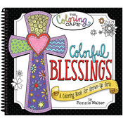 Colorful Blessings - The Coloring Cafe' Coloring Book