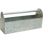 "Mix The Media Galvanized Tool Box 17""X5.25""X8"""