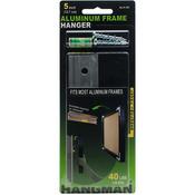 "40lbs - Aluminum Picture Frame Hanger 5"""