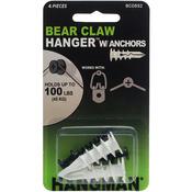 "Double Headed Bearclaw Hangers & Anchors 1.25"" 2/Pkg"