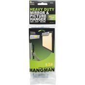 """75lbs - Heavy Duty Hangman Mirror & Picture Hanger W/Walldogs 6"""""""