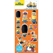 British Invasion - Minions Mini Flat Stickers