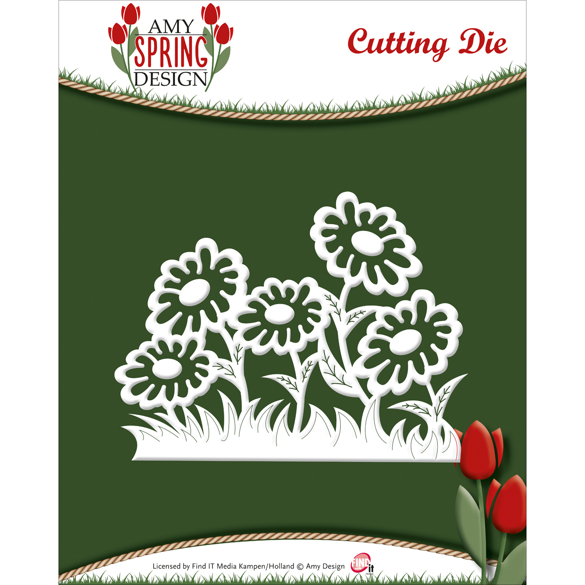 Daisies - Find It Trading Amy Design Spring Die