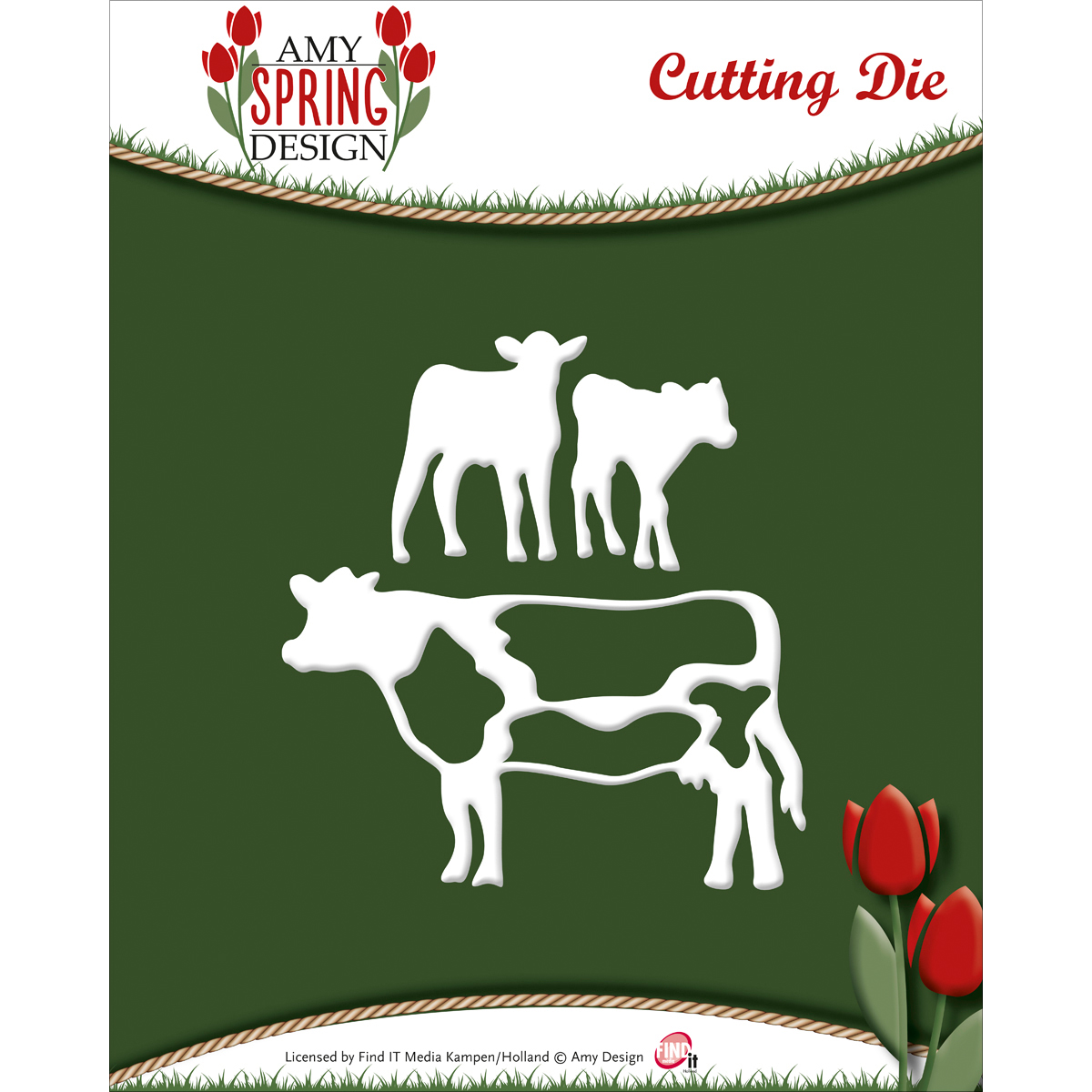 Cows - Find It Trading Amy Design Spring Die