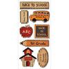 Back To School - Kraft Paper Elements Stickers
