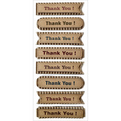 Thank You! - Sentiment Kraft Tags