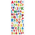 Font Fun - Glitter Stickers