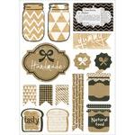 Handmade - Vintage Kraft Stickers