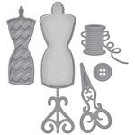 All Stitched Up - Spellbinders Shapeabilities Die D-Lites