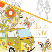 Flower Child - KaiserColour Perfect Bound Coloring Book