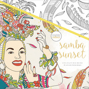 Samba Sunset - KaiserColour Perfect Bound Coloring Book
