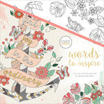 Words To Inspire - KaiserColour Perfect Bound Coloring Book