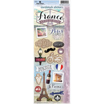 "Discover France - Paper House Cardstock Stickers 5""X12"""