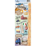"Discover Italy - Paper House Cardstock Stickers 5""X12"""