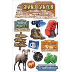 Grand Canyon - Paper House 3D Stickers
