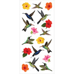 Hummingbirds Puffy Stickers - Paper House