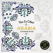 Vive Le Color! Arabia Coloring Book - Abrams Books