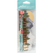Wilderness Adventure - Jolee's Boutique Title Waves Dimensional Stickers