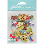 Texas - Jolee's Boutique Dimensional Stickers