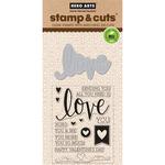 Love - Hero Arts Stamp & Cut