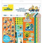 "Minions Page Kit 12""X12"""