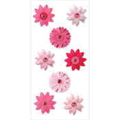 Pink Berry - Handmade Flowers Stickers