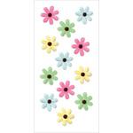 Luau - Handmade Flowers Stickers