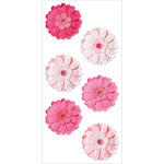 Pink Berry - Handmade Flowers Stickers
