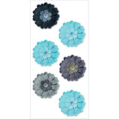 Paradise - Handmade Flowers Stickers
