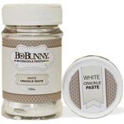 White Bo Bunny Crackle Paste