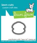 Year Six Lawn Cuts Die - Lawn Fawn