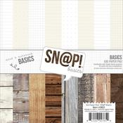 Color Vibes Basics 6 x 6 Paper Pad - Sn@p! Basics Color Vibe - Simple Stories