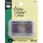 Purple 60/Pkg - Easy Grasp Pins