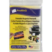 """4""""X6"""" Matte/Gloss - White Inkjet Printable Postcard Magnet 3/Pkg"""