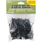 Parachute Cord Buckles 15mm 30/Pkg