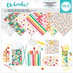 "Oh Goodie! Pattern - We R Memory Keepers Glassine Paper Pack 12""X12"" 24/Pkg"