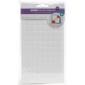 ".5"" Jumbo Square 104/Pkg - 3D Pop Dots Dual-Adhesive Foam Mounts"