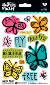 "Fly Free - Illustrated Faith Basics Stamps 4""X6"""