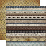 Border Strips Paper - Old World Travel - Carta Bella