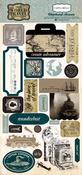 Old World Travel 6 x 13 Chipboard - Carta Bella