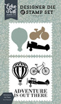 Adventure Is Out There Die & Stamp Set - Carta Bella