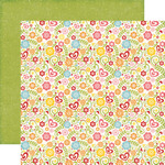 Summer Blossoms Paper - Happy Summer - Echo Park