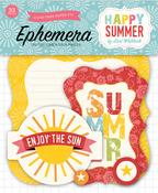 Happy Summer Ephemera Pack - Echo Park