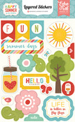 Happy Summer Layered Stickers - Echo Park