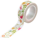 Ivy Floral Decorative Tape - Happy Summer - Echo Park
