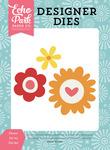 Flower Set #5 Die Set - Happy Summer - Echo Park