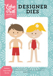 Summer Paper Dolls Die Set - Happy Summer - Echo Park