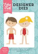 Summer Paper Dolls Die Set - Happy Summer - Echo Park